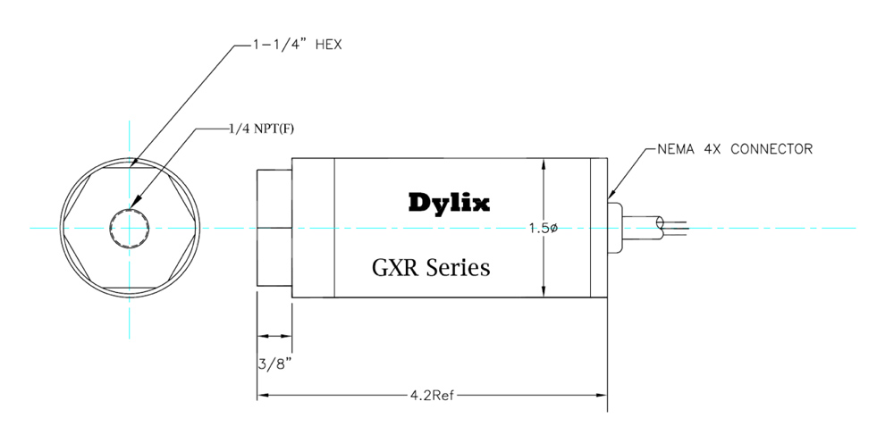 GXR Series Gage/Absolute Pressure Transmitter - Dylix Corporation